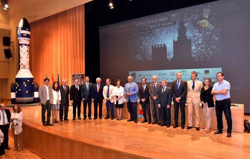 Empresas e instituciones apuestan por incrementar el desarrollo del sector espacial en Andalucía con motivo de la Semana Mundial del Espacio