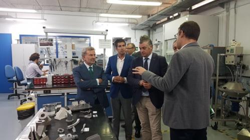 El consejero de Empleo, Empresa y Comercio destaca el papel que jugará CATEC para preparar a las empresas a adaptarse al concepto de la Industria 4.0
