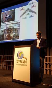 Nuestro centro muestra sus últimas novedades y tecnologías de END en la Conferencia Europa de Ensayos No Destructivos