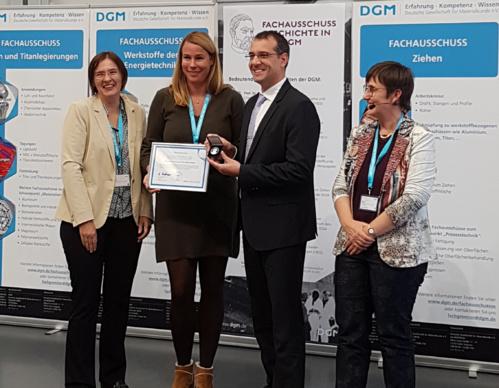 Fernando Lasagni recibe el premio internacional Georg-Sach-Preis por sus trabajos innovadores en el campo de la fabricación aditiva para el sector aeroespacial