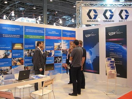 CATEC muestra sus servicios y tecnologías en materiales compuestos en JEC Composites 2011