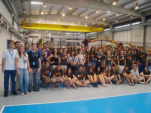Alumnos de especialidades de Ingeniería de diferentes universidades europeas visitan CATEC