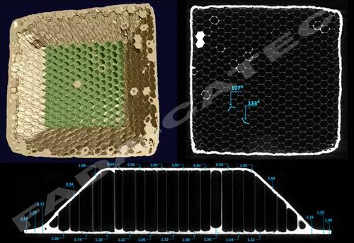 Tomografía computerizada de rayos-x para la caracterización estructural y de fallos en materiales aeroespaciales