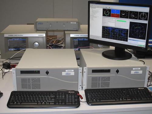 El centro dispone de un simulador de GPS/ EGNOS-GALILEO para aplicaciones en soluciones de navegación de equipos embarcados en vehículos