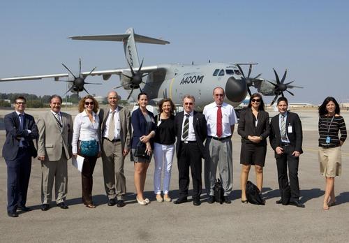 Empresas alemanas visitan CATEC y se interesan por las oportunidades de negocio del sector aeronáutico en Andalucía
