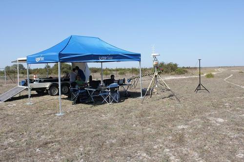 Doñana acoge diferentes pruebas para la validación de los aviones no tripulados que se utilizarán en el proyecto PLANET