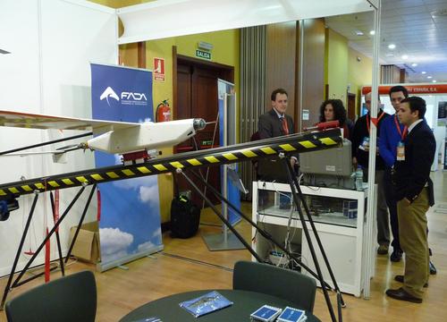 CATEC colabora en UNVEX 2012, el encuentro nacional sobre sistemas aéreos y terrestres no tripulados
