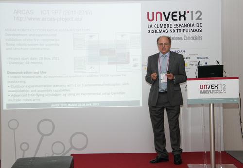 Notable acogida de los proyectos y servicios de CATEC en el área de sistemas no tripulados durante la celebración de UNVEX