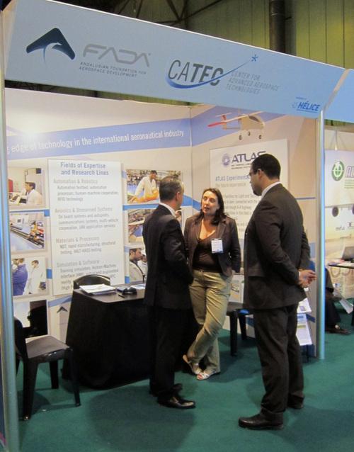 """CATEC consolida su actividad internacional con una intensa agenda de contactos durante la convención """"ADM Sevilla 2012"""""""