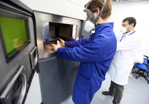 """CATEC incrementa su actividad de """"Rapid Manufacturing"""" para atender la demanda de las empresas del sector"""