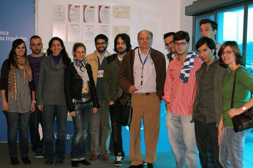CATEC abre sus puertas a los estudiantes de la red Euroavia, integrada por jóvenes que se forman en el ámbito de la aeronáutica
