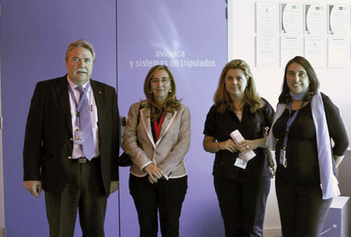 La directora general de Investigación, Tecnología y Empresa visita CATEC y destaca el potencial de sus infraestructuras tecnológicas