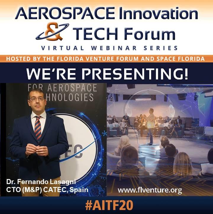 El Centro Avanzado de Tecnologías Aeroespaciales presenta su tecnología de impresión 3D espacial ante inversores de Space Florida