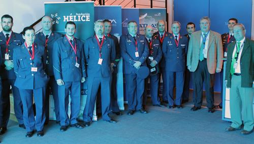 El Grupo Móvil de Control Aéreo del Ejército del Aire visita el centro y conoce sus principales iniciativas y proyectos tecnológicos
