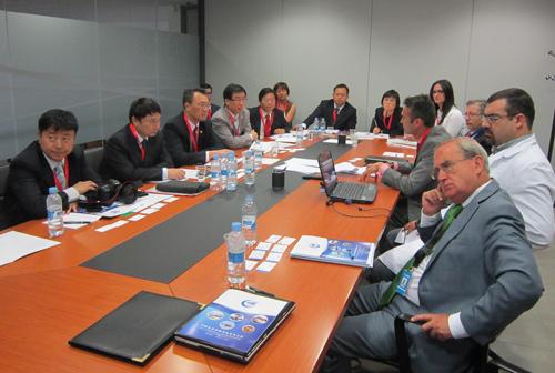 La compañía aeronáutica china AVIC se interesa por las capacidades tecnológicas de CATEC y las oportunidades de colaboración con el sector andaluz