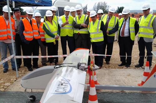 El Centro ATLAS para vuelos experimentales con aviones no tripulados estará en funcionamiento a finales de 2013