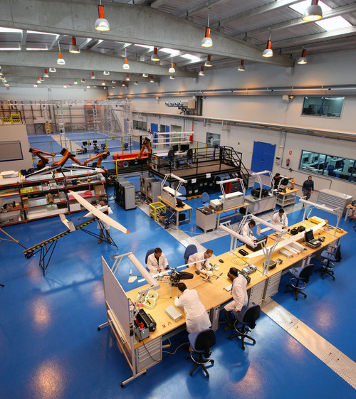 CATEC contribuyó al impulso de la I+D de la industria aeronáutica en Andalucía en 2012, que creció un 90%