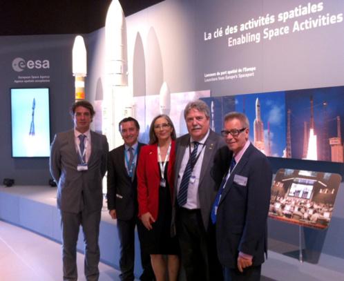 CATEC consolida su proyección internacional tras su participación en el Salón Aeronáutico de París Le Bourget 2013