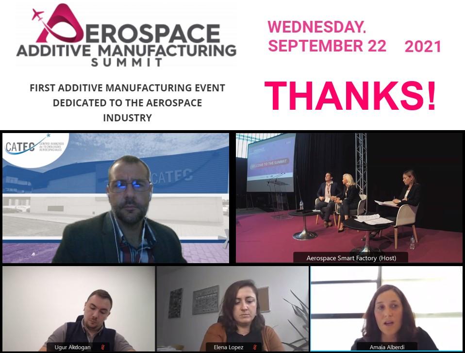 Participación en el Aerospace Additive Manufacturing Summit