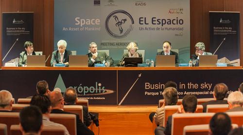 """CATEC potencia su presencia en el sector espacial participando en las jornadas """"El Espacio: un Activo para la Humanidad"""""""