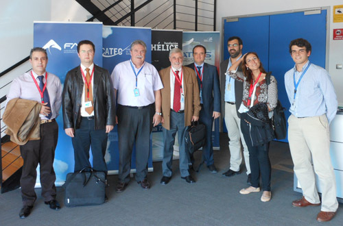 CATEC recibe la visita de los responsables del centro tecnológico andaluz del plástico ANDALTEC