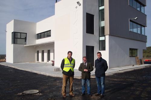 El Centro ATLAS ultima la construcción y puesta en funcionamiento de sus instalaciones, las primeras de España dedicadas a ensayos con UAS