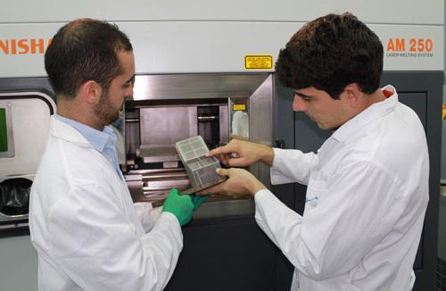 MAPER: nuevos materiales porosos y técnicas alternativas de fabricación para su aplicación en el sector espacial