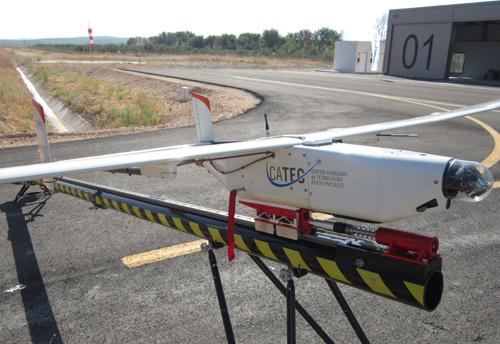 El Centro ATLAS acoge el primer vuelo fuera de vista que se realiza en España con un avión no tripulado