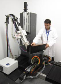 Ensayos No Destructivos para caracterizar componentes y materiales aeronáuticos mediante la tomografía computerizada de rayos X