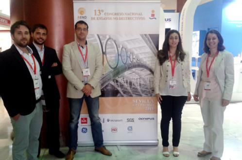 Destacada presencia de CATEC en el 13º Congreso Nacional de Ensayos No Destructivos, celebrado en Sevilla
