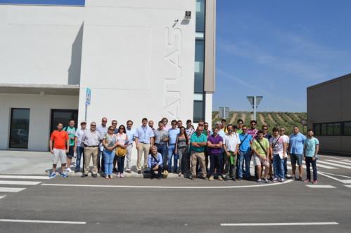El Centro ATLAS acoge la visita de un grupo de alumnos del curso sobre drones de la Universidad Internacional de Andalucía