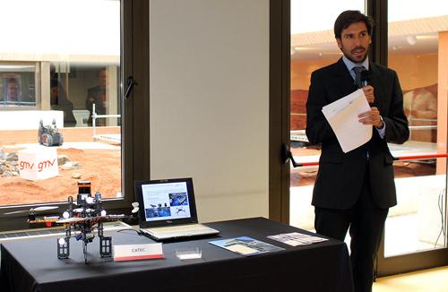 CATEC expuso sus avances y desarrollos en tecnología robótica en la V Jornada GMV de Robótica