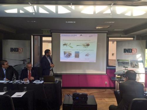 El Centro expone en un seminario las principales tendencias tecnológicas aplicadas a la vigilancia de infraestructuras críticas con UAS