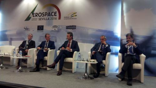 Gran balance de la participación en la tercera edición del encuentro aeroespacial ADM Sevilla 2016