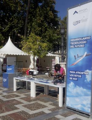 """CATEC se sumó a la celebración de la """"Noche Europea de los Investigadores"""", que incluyó numerosas actividades en toda España"""