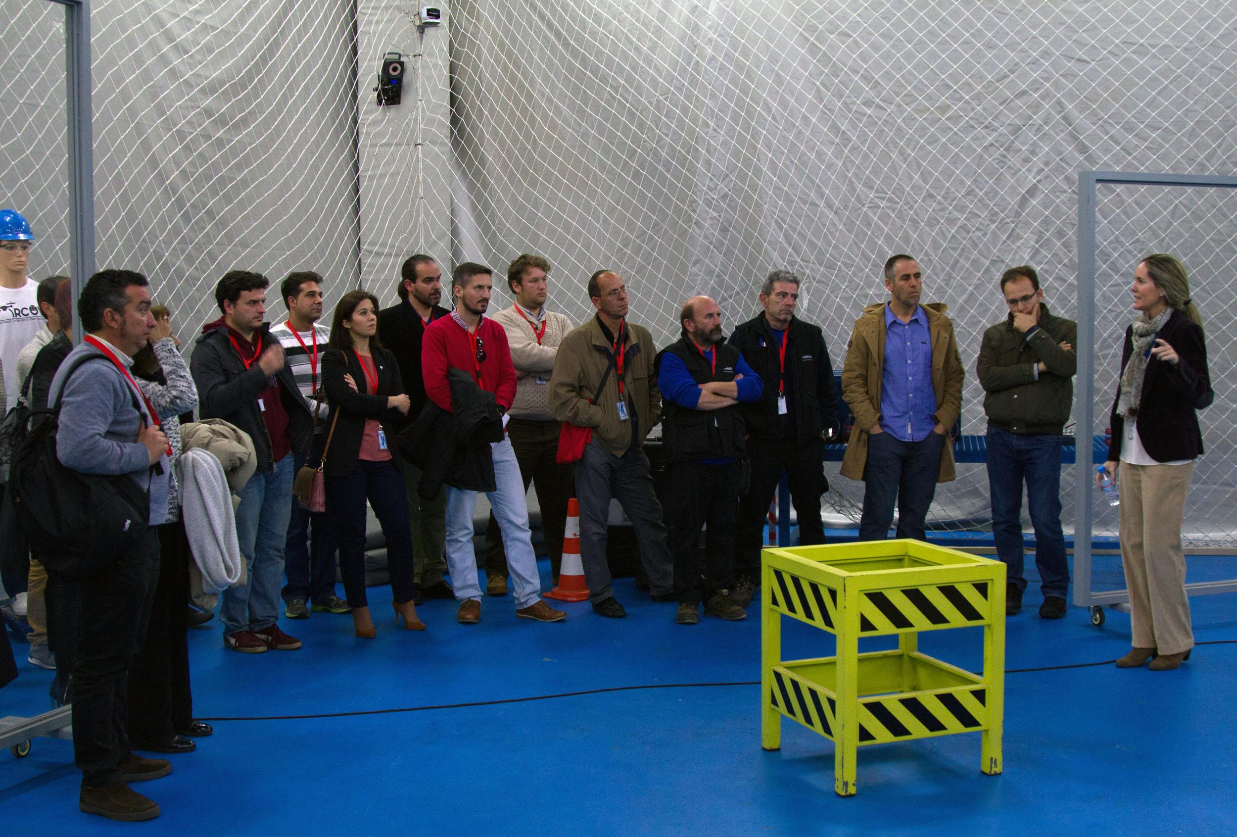Nuestro Centro acerca a los jóvenes emprendedores las oportunidades de emprendimiento y desarrollo empresarial que ofrece el sector aeroespacial