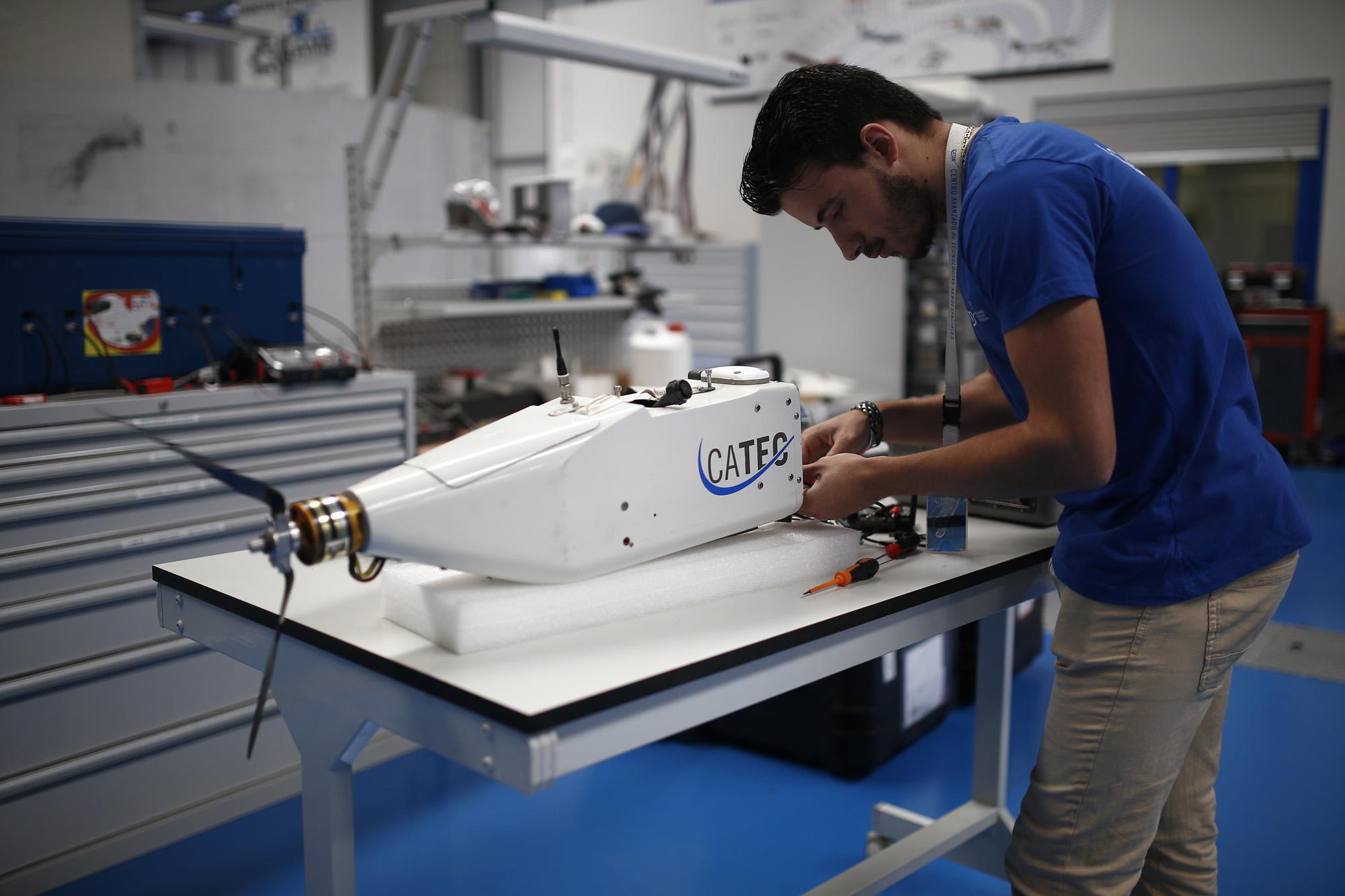 CATEC participa como experto en un encuentro de la Agencia Europea de Defensa sobre las tecnologías de drones en el futuro