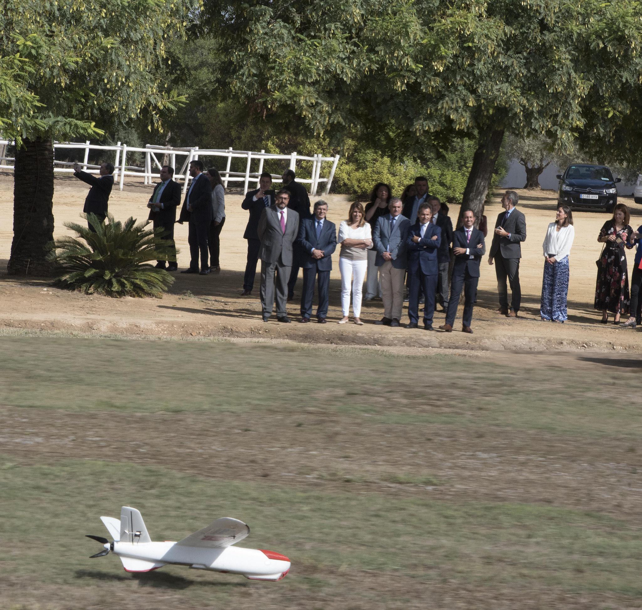 Nuestro Centro colabora con Vodafone en el desarrollo de un sistema para controlar el vuelo de los drones a través de la red móvil 4G