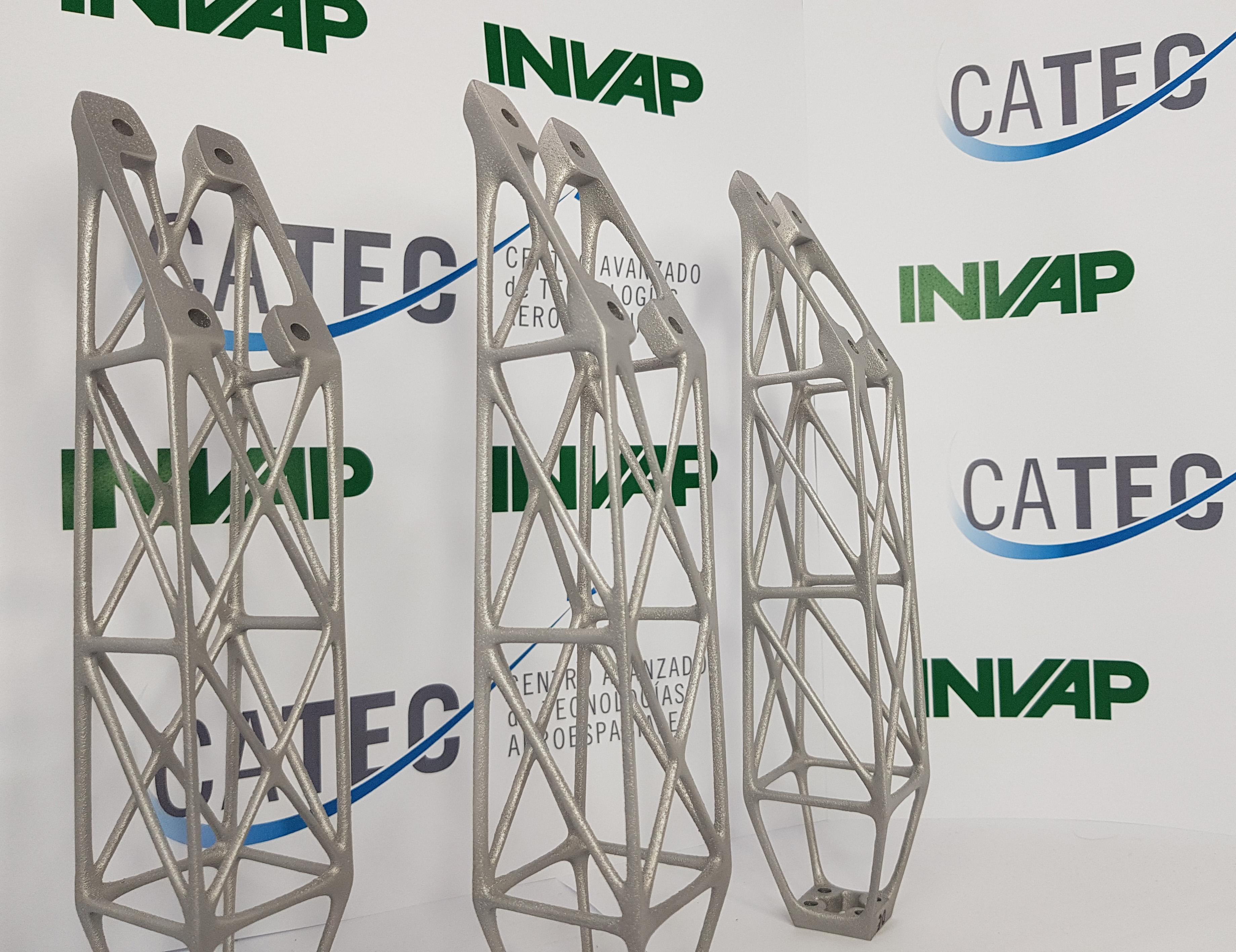CATEC colabora con INVAP Argentina en el desarrollo de componentes por impresión 3D para sus misiones satelitales