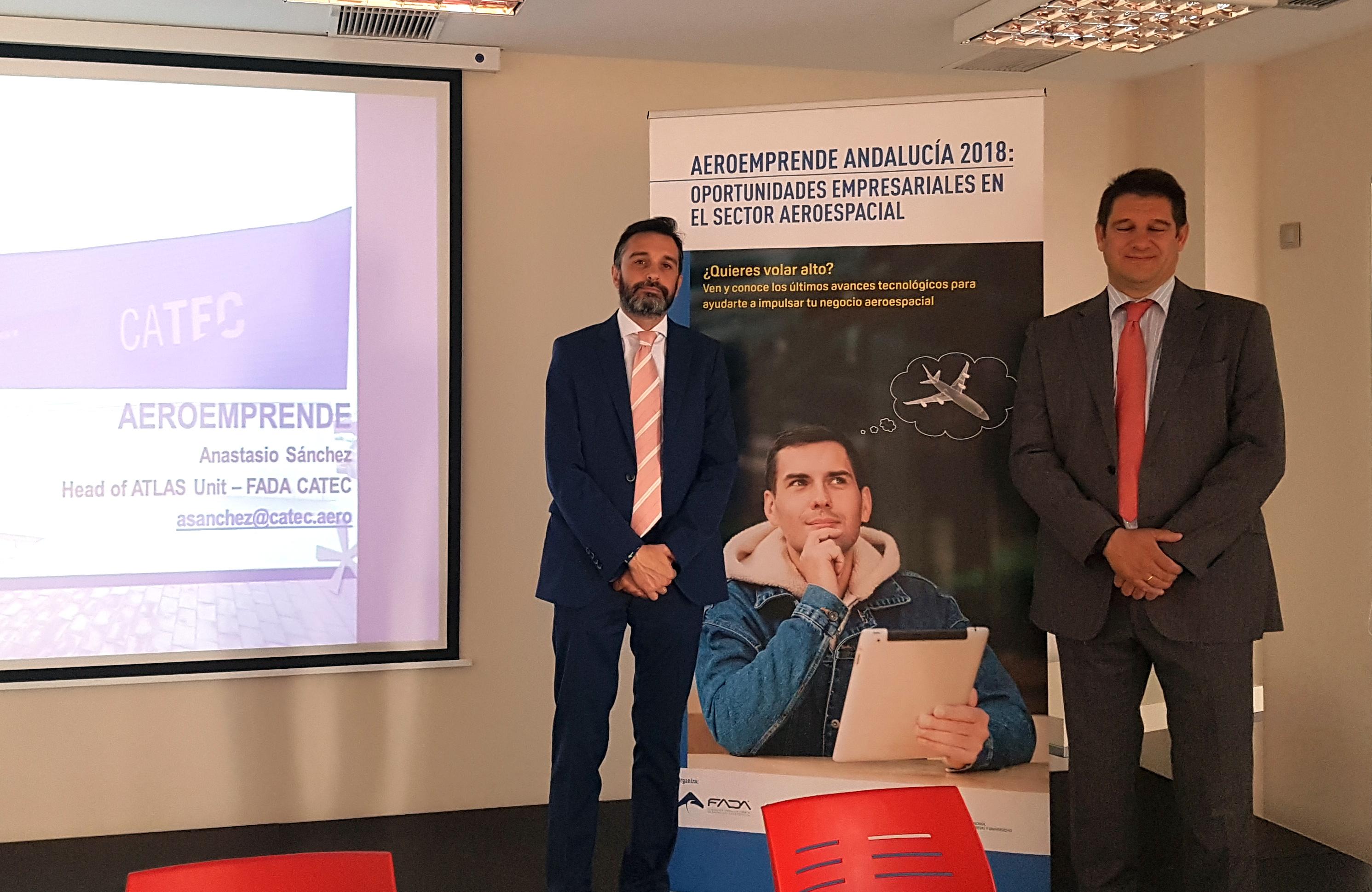 CATEC acerca a emprendedores y pymes andaluzas las últimas tecnologías del sector para ayudarles a impulsar su negocio