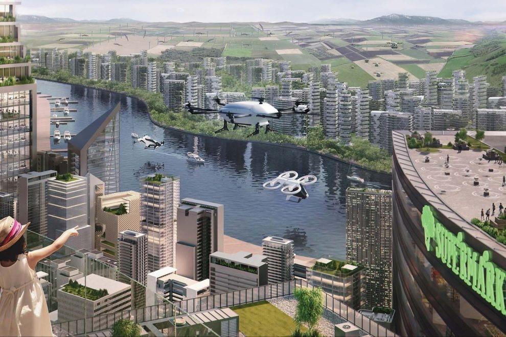 El futuro de la movilidad aérea urbana ya es tangible