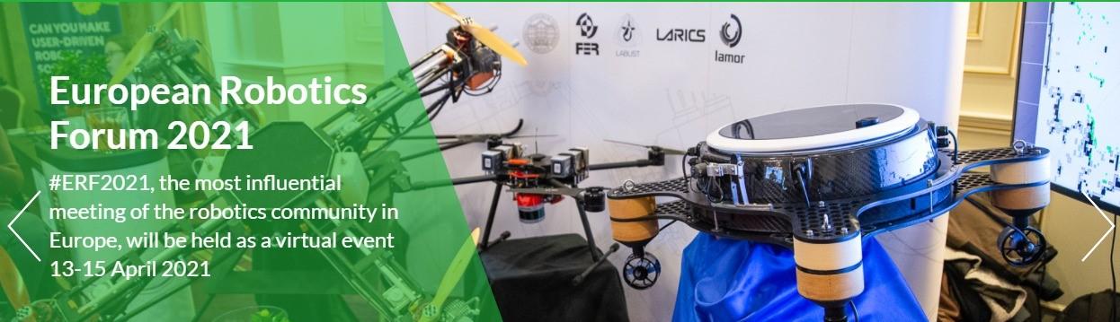 CATEC, Gold Sponsor del European Robotics Forum 2021
