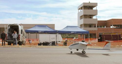 El Centro ATLAS acoge los primeros ensayos en vuelo con aviones no tripulados y ultima su puesta en funcionamiento para principios de 2014