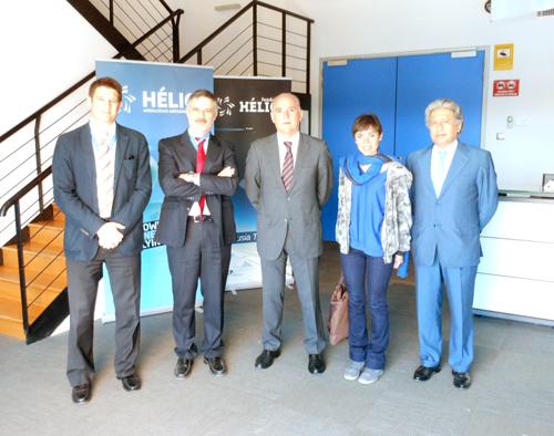 Un grupo de empresas del PTA de Málaga especializadas en el área de sistemas conocen las instalaciones y servicios de CATEC