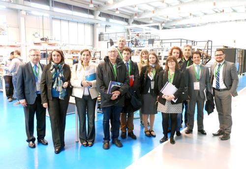 Compañías y entidades de diferentes clusters europeos visitan Sevilla y conocen las principales infraestructuras del sector aeronáutico andaluz