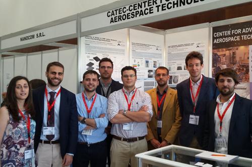 CATEC presenta sus últimas investigaciones y capacidades tecnológicas en Materiales y Procesos en la XVI Conferencia Europea en Materiales Compuestos