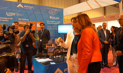 CATEC da un nuevo impulso a su actividad de I+D aerospacial con su presencia en las grandes ferias internacionales del sector