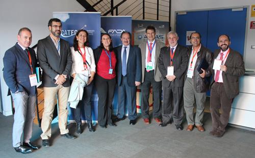 Empresarios y emprendedores del Parque Tecnológico Geolit, de Jaén, visitan CATEC y conocen sus instalaciones y actividades