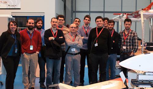CATEC acoge la visita de estudiantes e ingenieros del sector aeronáutico interesados en conocer su actividad tecnológica