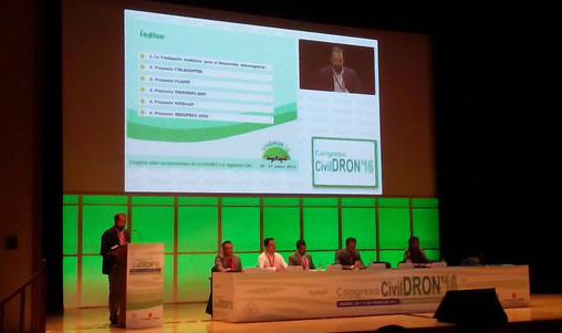 CATEC lleva al congreso nacional CivilDron 2016 sus experiencias en el uso de RPAS en aplicaciones civiles